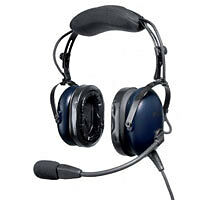 Pilot Aviation Headset PA18-50 Active Noise Cancelling - DNC - Battery Box