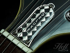 """Diamante"" DELUXE Diecast Truss Rod Cover. Fits most Epiphone and many others."