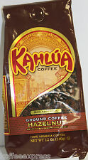 Kahlua Hazelnut Gourmet Ground Coffee  1 BAG 12oz  EACH FRESH