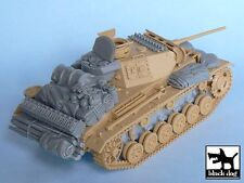 Black Dog 1/48 Panzer III Ausf.L Tank Accessories Set WWII (Tamiya 32524) T48024