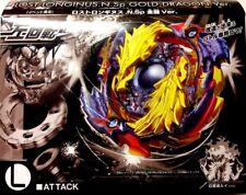 TAKARA TOMY BEYBLADE BURST LIMITED B-00 Lost Longinus N.Sp Gold Dragon+LAUNCHER