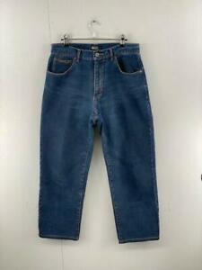 JAG Jeans Mens Blue Denim High Rise Classic Fit Straight Leg Jeans Size 31
