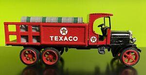 ERTL Texaco 1925 Kenworth Stake Die Cast Truck Coin Bank w/ Key 1:18 Scale