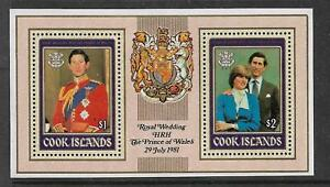 1981 Royal Wedding set of 2 Mini Sheet Complete Mint Unhinged/MNH