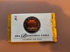 1993-94 Skybox Premium Basketball: Series 1 - Pack Shaq Talk, Jordan's? Rookies?