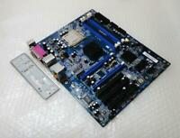 Abit IL9Pro Socket LGA 775 Motherboard with CPU and Backplate - Tested