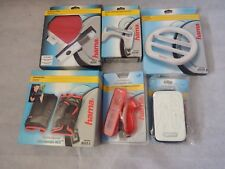 Wii Accessories Bundle Pack Hama 6 items - all new