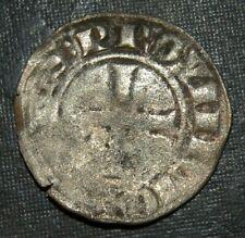 Medieval Silver Coin Lot 1100-1200's Crusader Templar Cross Ancient Hand Hammer
