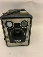 Brownie Six-20 Camera Model D With Flash Contacts Made In England Kodak