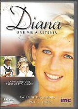 DVD ZONE 2--DOCUMENTAIRE-DIANA UNE VIE A RETENIR - LA REINE DES COEURS 1961-1997