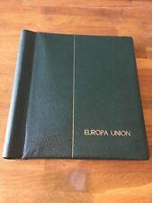 Europa Union 1956-1970 Lighthouse Spring back Preprinted Stamp Album Empty
