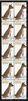 BASENJI YEAR OF THE DOG STRIP OF 10 MINT VIGNETTE STAMPS 1