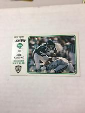 1981 Joe Klecko New York Jets PAL Card NYPD RARE PLUS 10 FREE 1977 VINTAGE CARDS