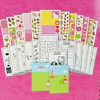 Hello Kitty 2000+ Stickers Set Travel Book 24 pages Maze Tic-Tac-Toe Match Up 3+