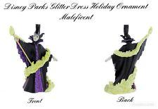 Disney Parks Christmas Sleeping Beauty MALEFICENT Glitter Ornament ~ NEW w/ TAG