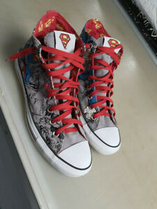 Chuck Taylor Converse Superman - Size 9 UK SHOES TRAINERS