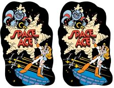Space Ace Side Art Panels Cabinet Graphics Stickers Reproduction