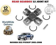 FOR NISSAN NAVARA D22 PICKUP 2.5TD 1998-2008 NEW REAR GEARBOX UJ JOINT KIT
