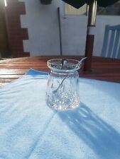 glass sugar bowl with lid