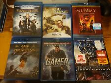 Age of the Dragons + Gamer + Transformers + Snow White Huntsman 6 Blu Ray Lot