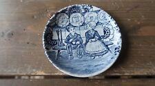 Vintage Delft Boch Tea Plate 4.25 Inches