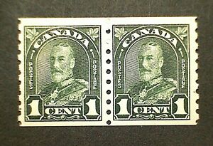 Canada #179 George V Arch Issue (1930) Coil Pair MNH
