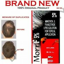 Morr F 5% Solution For hair Growth Treatment for Men Free Shipping