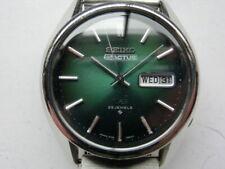 Seiko 5 Actus SS 6106-8470 Men's Watch Automatic Case:38mm Face:Green Rank:B