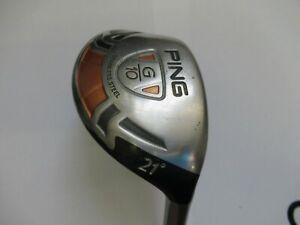 Ping G10 R/H 21 Degree Hybrid With Ping TFC129 Soft Regular Shaft
