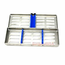 Dental Surgical Instruments Cassette #5 Clean Sort Sterilization Care Holloware