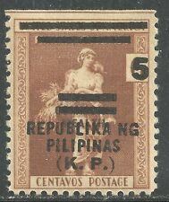 U.S. Possession Philippines stamp scott no5 - 5 cent on 6 cent issue - mnh #10