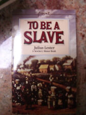 To Be a Slave by Julius Lester (1968 paperback) New Book