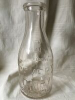 Vintage Quart Milk Bottle Geyer's Dairy Chicago Illinois
