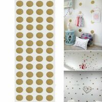 52Pcs Polka Dot Wall Decals Removable Stickers Decor Mural Nursery Children Kids