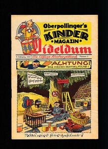 Dideldum Kinderzeitung 9. Jahrgang 8 Hefte 1937 Otto Waffenschmied Comics