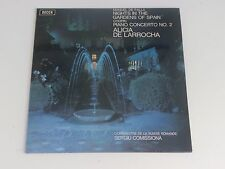 Manuel De Falla Nights In The Gardens Of Spain De Larrochs Decca SXL 6528 UK LP