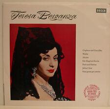 Teresa Berganza Orpheus und Eurydike Medea Alceste The Maid as Herrin LP (E472)