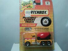 MATCHBOX 1991 PETERBILT CEMENT TRUCK MB 19
