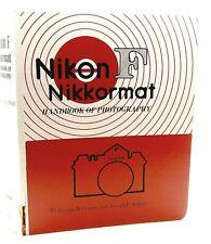 NIKON F NIKKORMAT HANDBOOK OF PHOTOGRAPHY by COOPER & ABBOTT - UK DEALER