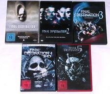 DVD: Sammlung FINAL DESTINATION 1-5 (1 + 2 + 3 + 4 + 5) / Komplett Deutsch FSK18