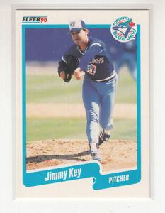 JIMMY KEY 1990 Fleer Canadian Canada #85 Toronto Blue Jays NM