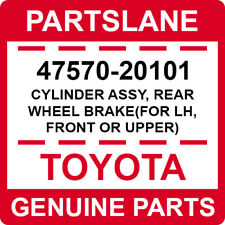 47570-20101 Toyota OEM CYLINDER ASSY, REAR WHEEL BRAKE(FOR LH, FRONT OR UPPER)
