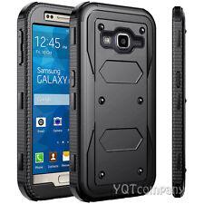 Samsung Galaxy J3 Case / Galaxy Amp Prime Phone Case Slim Black Defender Cover