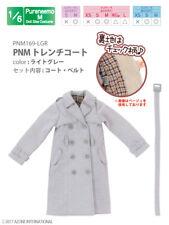 Azone Pureneemo PNM Trench Coat Light Grey Blythe Pullip 1/6 Obitsu Momoko