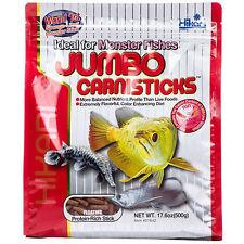 Hikari Jumbo Carnisticks 17.6 oz - Fish For For Carnivorous Fish, Arowana, Gar