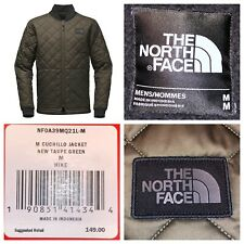 NWT The North Face Men's Taupe Green CUCHILLO INSULATED JACKET Size Medium