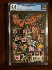 Batman Adventures 45; CGC 9.8; Harley Quinn; Darwyn Cooke; White Pages!