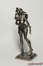 Tin soldier, figure. Lady COP 90 mm