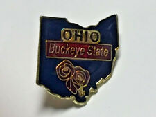 OHIO STATE BLUE LAPEL PIN HAT TAC NEW