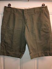 Womens Gap 4 Brown Khaki Dress Shorts
